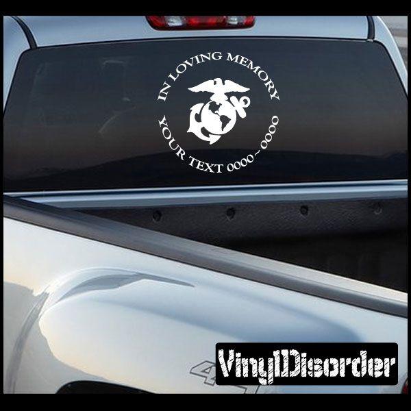 Best Car Decals Images On Pinterest In Loving Memory Brave - Best car sticker logo