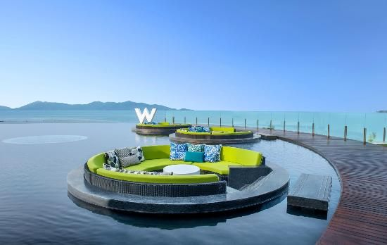 Pic that sold me for Honeymoon.  Photos of W Retreat Koh Samui, Mae Nam - Hotel Images - TripAdvisor