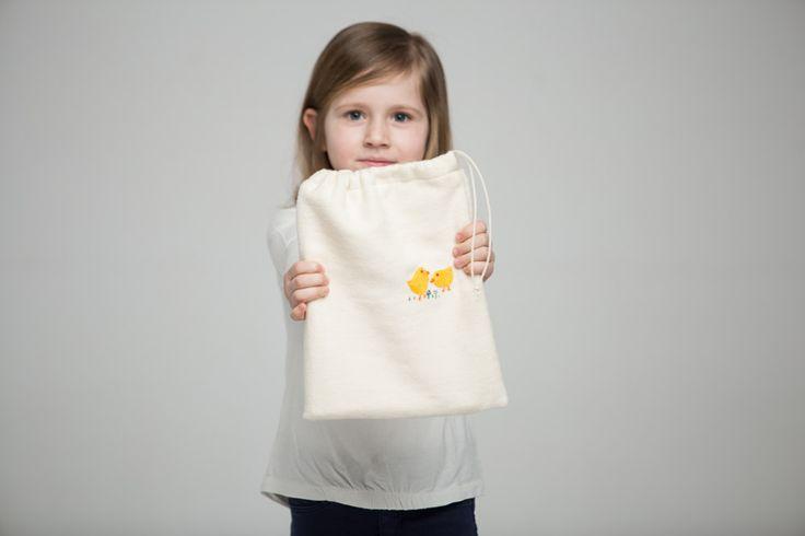 Medium Treasure Sack #polaparysek #kids #embroidery #stiches #craft #handmade #tradition #freetime #onceuponatime #fairytale #storytelling