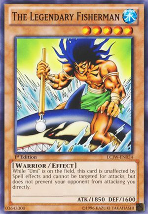 YuGiOh Legendary Collection 4: Joey's World Common The Legendary Fisherman LCJW-EN024