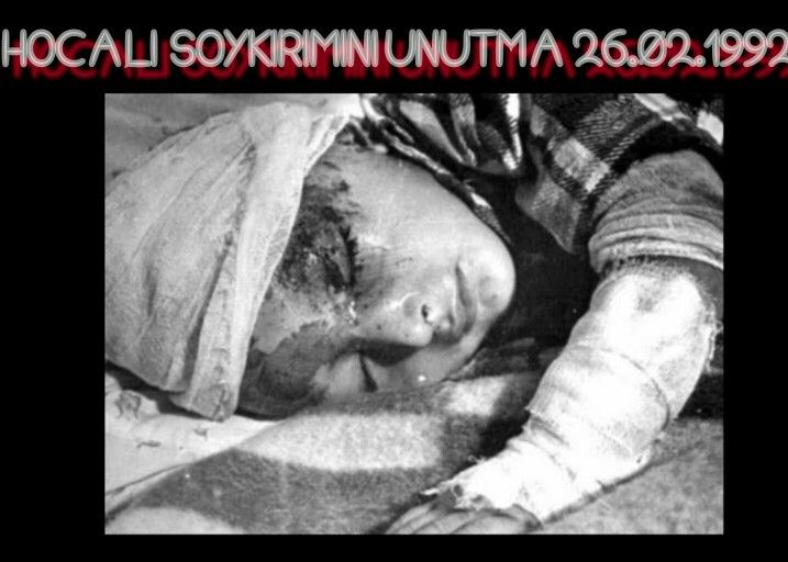 HOCALI KARABAĞ SOYKIRIMINI UNUTMA UNUTTURMA! XOCALI SOYQIRIMI QARABAĞ! CHODSCHALI, EIN VÖLKERMORD EIN GENOZID! KHOJALY GENOCIDE. WE WILL NEVER FORGET THE PAIN. WE WILL NEVER FORGET THE PAST. WE WILL NEVER FORGET IT!!!! 26.02.1992