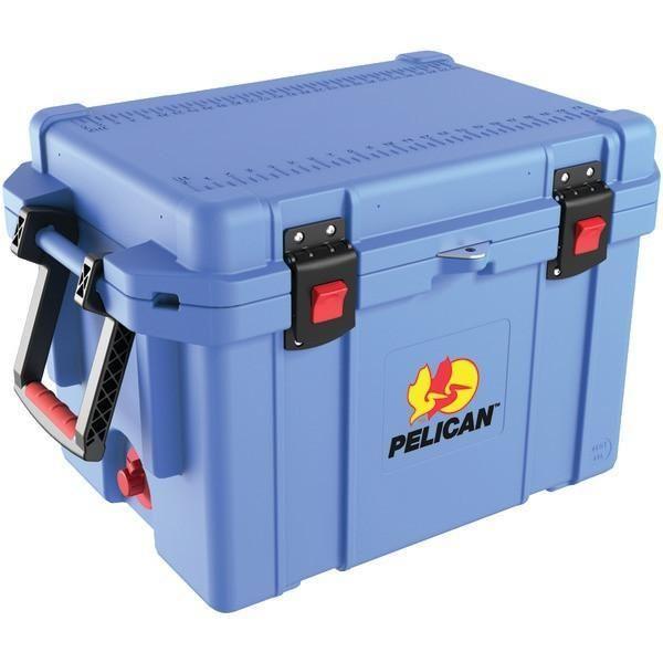 Pelican 32-45Q-CC-LTBLU 45-Quart ProGear Elite Cooler (Light Blue)