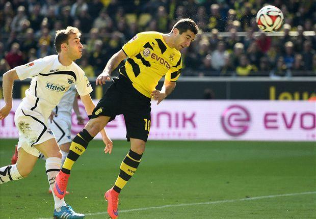 Dortmund scapa definitiv de grijile retrogradarii dupa 3-0 cu Paderborn.