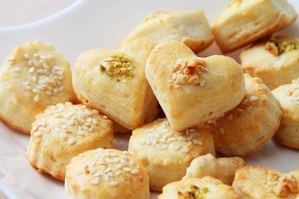 Syrové slané pečivo