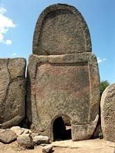 Sardinia, Arzachena, Tomba dei giganti