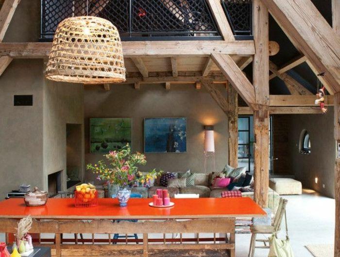 1-un-joli-appartement-d-esprit-loft-avec-poutre-en-bois-poutre-chene-pour-decorer-la-maison