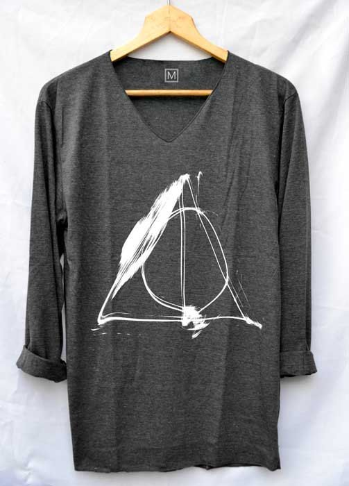 Deathly Hallows Normal Shirt Harry Potter Shirts by iNakedapparel