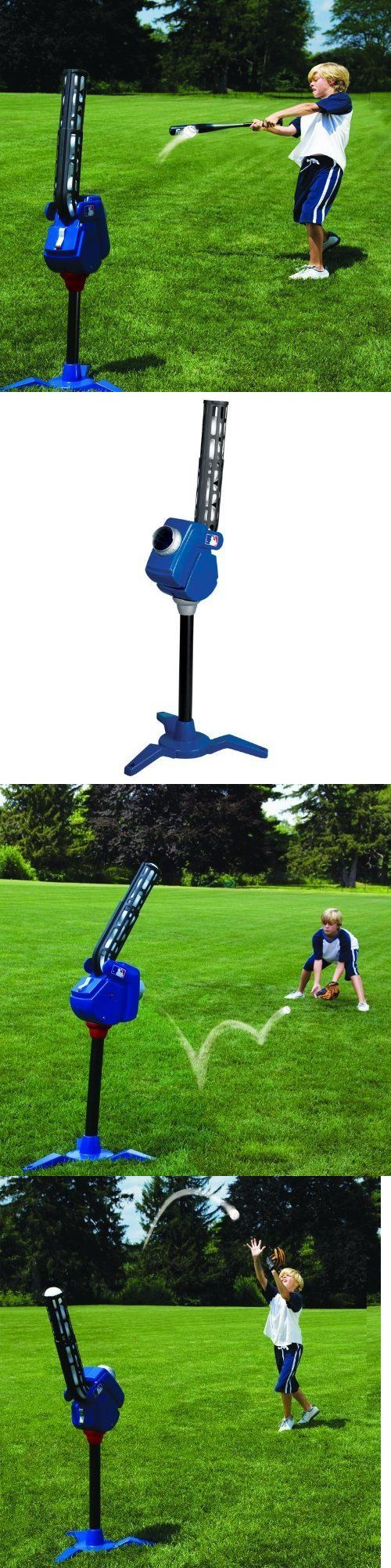 Pitching Machines 58061: Baseball Softball Pitching Machine Batting Fielding Soft Fast Pitch Wiffle Jugs -> BUY IT NOW ONLY: $49.99 on eBay!