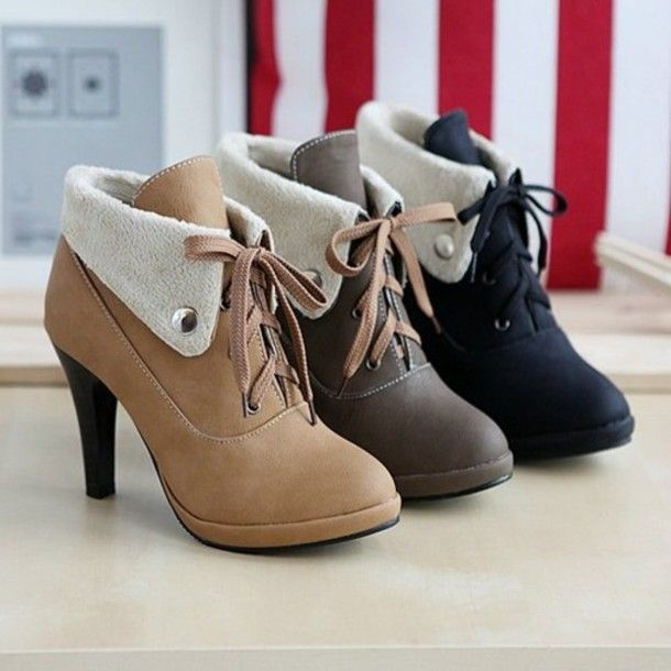 cute high heel shoes google search shoes booties