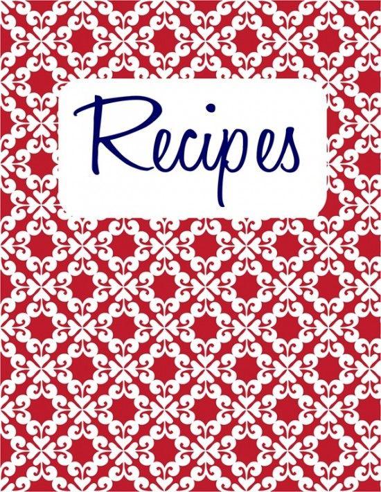 25 best ideas about recipe templates on pinterest recipe books