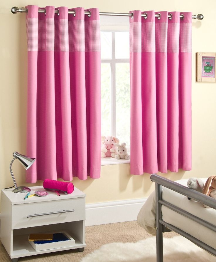 1000+ Ideas About Pink Curtains On Pinterest