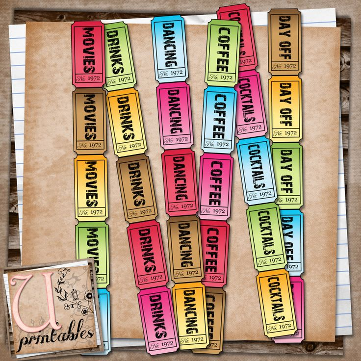 Best 25+ Party tickets ideas on Pinterest 13th birthday party - print your own tickets template free