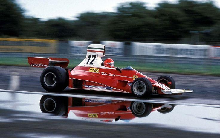 1975 British Grand Prix Ferrari 312T Niki Lauda www.romeoauto.it