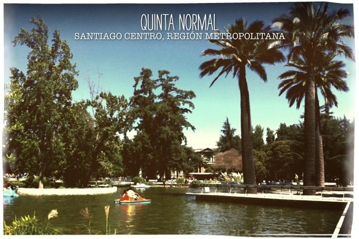 Parque Quinta Normal, Santiago, Chile.