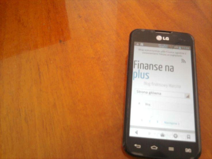 Widok z telefonu http://finansenaplus.pl