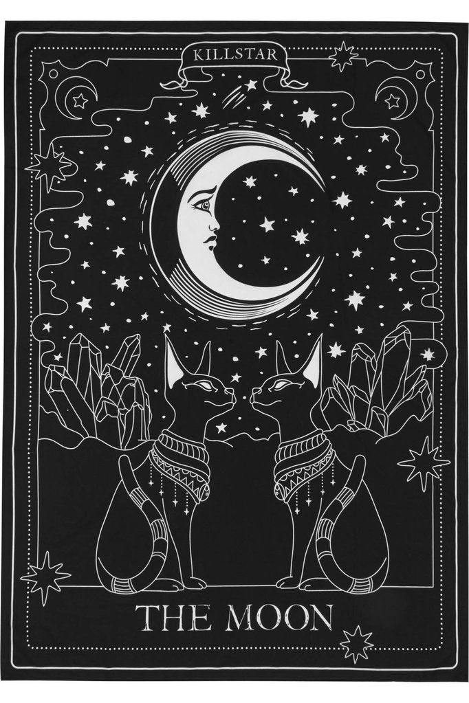 Killstar The Moon Tapestry B Moon Tapestry Moon Art Art