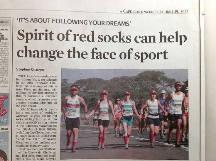 Special headline & article for us by Stephen Granger, Cape Times, Western Cape, South Africa on Wednesday 19th June. We believe this spirit can change the world! #shoOops!