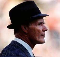 """Tom Landry (American football coach, Mission, Texas) He is legendary for his successes as the coach of the Dallas Cowboys. He is ranked as one of the greatest and most innovative coaches in NFL history. He created many new formations and methods, for example, he invented the now popular 4-3 defense, and the """"flex defense"""" system made famous by the """"Doomsday Defense"""" squads he created with the Dallas Cowboys."""