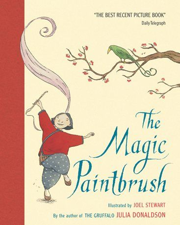 The Magic Paintbrush. Julia Donaldson's Picturebook Plays site with character list, prop & costume list and ideas for putting on a performance of The Magic Paintbrush.