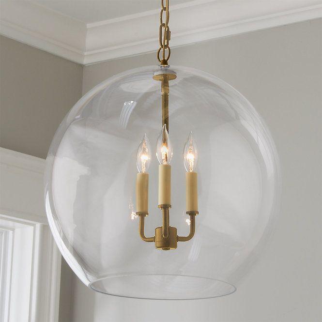 Clear Glass Sphere Chandelier Clear Glass Chandelier Chandelier