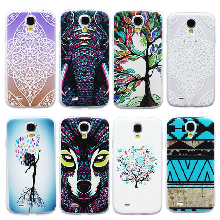 S4 Case Cover Thin TPU Soft Animal Shockproof Protect Silicone Phone Cases For Samsung Galaxy S4 S 4 IV i9500 9500 Back Covers
