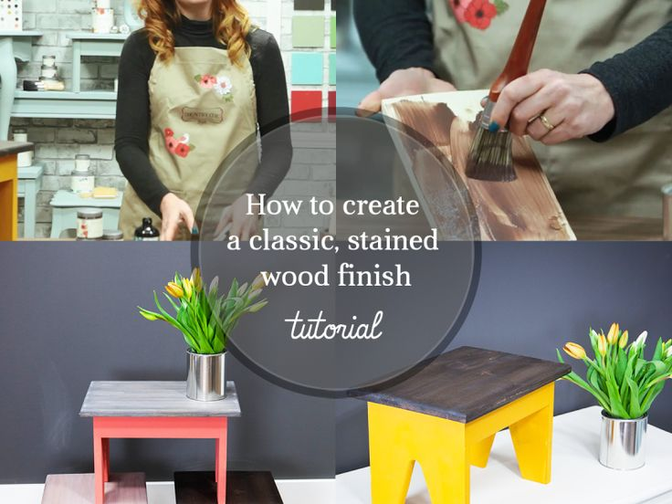 How To Create a DIY Rustic, Grey-Stained Finish on Furniture #DIY #raw #wood #stain #glaze #furniturepaint #paintedfurniture #chalkpaint #wax #hempoil #drybrush #howto #video #tutorial #countrychicpaint - blog.countrychicpaint.com
