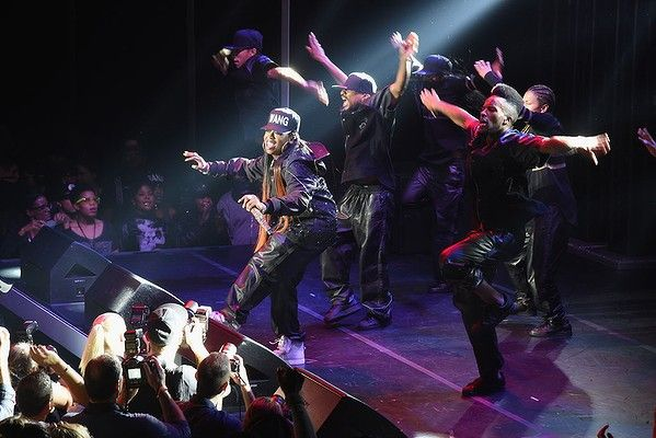Missy Elliott performing at the Alexander Wang for H&M after party in New York. #AlexanderWangxHM