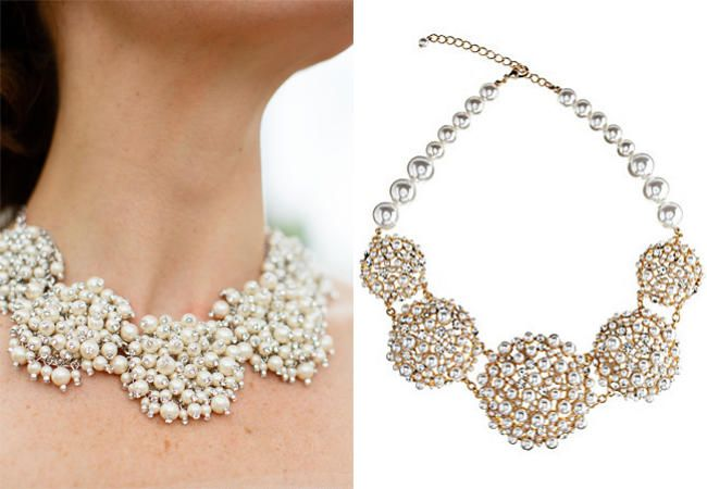 6 Brides Who Wore Statement Necklaces (Steal Their Style!)