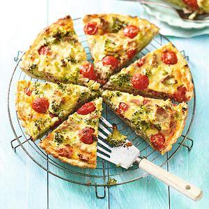 Recept - Broccolitonijntaart - Allerhande