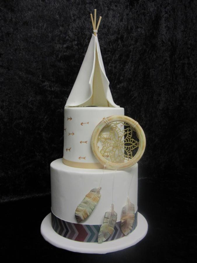 Dream Catcher by Sugarart Cakes