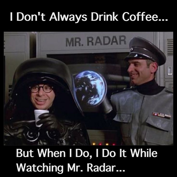 Spaceballs: Dark Helmet Coffee Haiku - The Sweeps, Beeps, and Creeps. Dark Helmet seeks out Lone Star, with help from coffee.