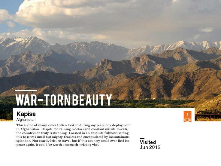 my photo // writeup of Kapisa, Afghanistan @ http://triptea.se/vrc93