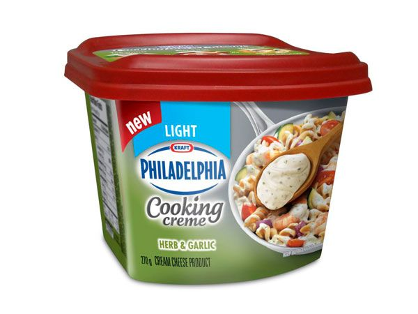 Products - Cheese & Dairy - Philadelphia Cooking Creme - Kraft First Taste Canada#