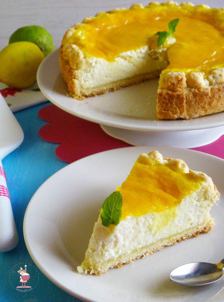 Crostata cheesecake al mango e lime   Le Torte di Michy