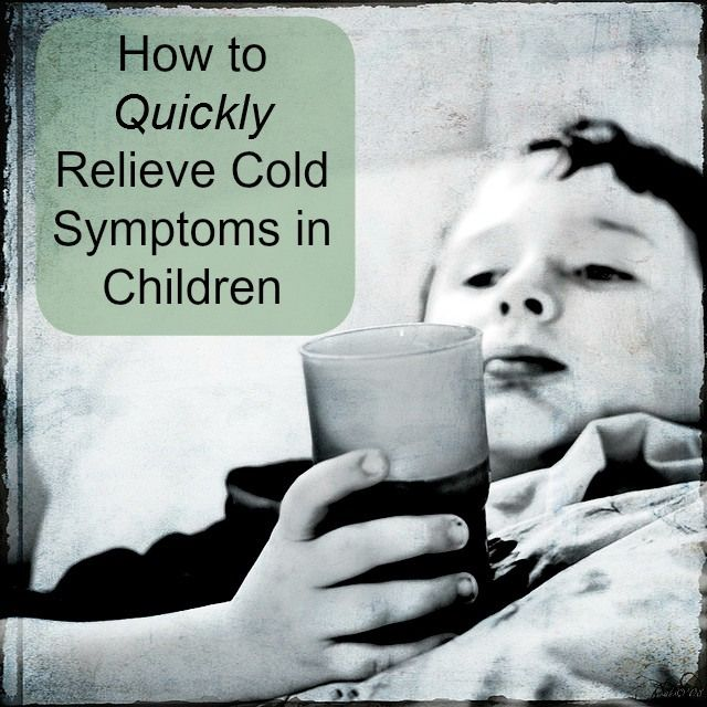 Next time your kids bring home a cold, try some of these tips to relieve their symptoms quickly. http://calgary.isgreen.ca/