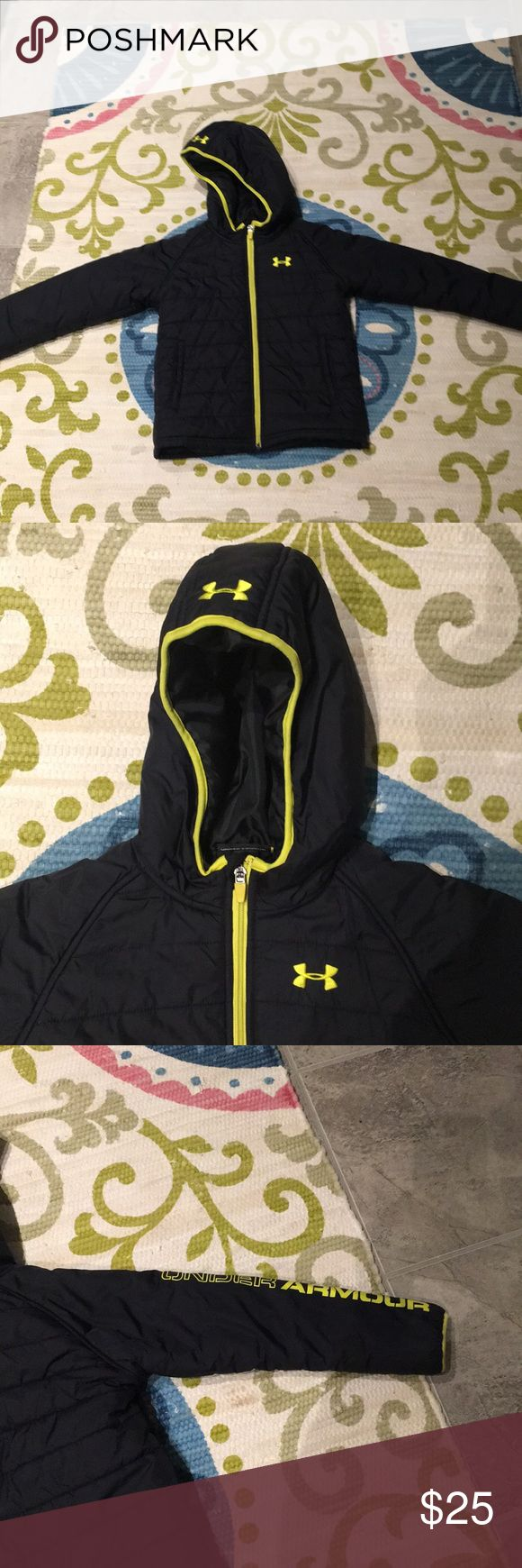Boys under armour coat Boys under armour coat. Size 7. Under Armour Jackets & Coats Puffers