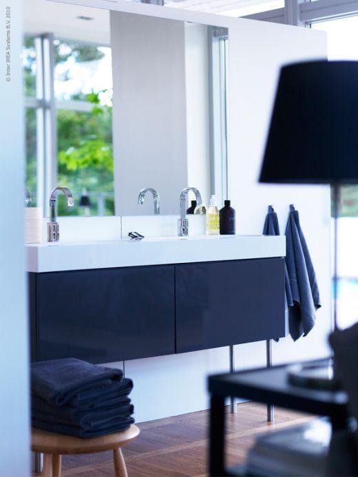 Ikea bathroom vanity with tall legs we want to update for Ikea double bathroom vanity