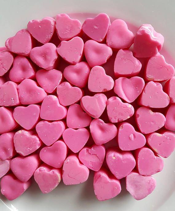 Marshmallow wax Melts £2 https://www.etsy.com/uk/listing/513791636/marshmallow-heart-shaped-wax