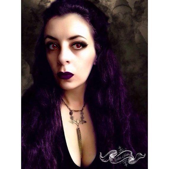 Vampire Filigree Bat Chain Necklace. by MordiasSolum on Etsy