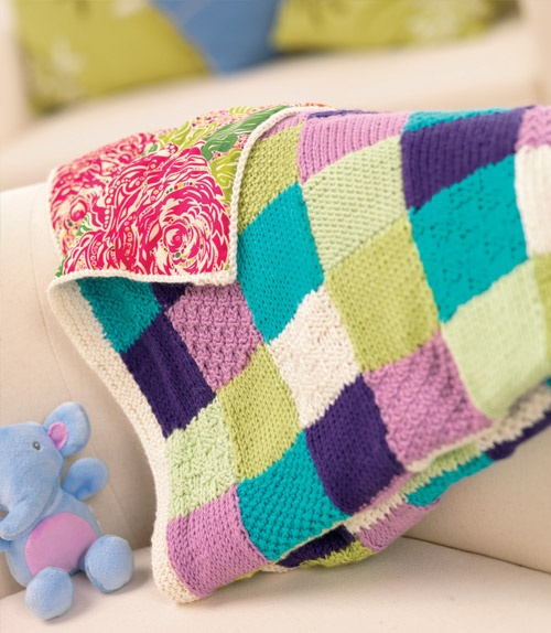 Florence - Free Knitting Patterns - Homewares Patterns - Let's Knit Magazine