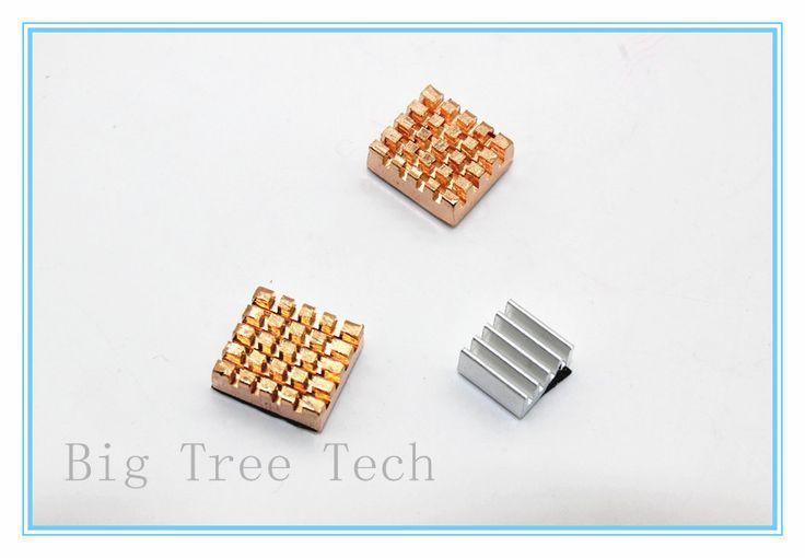 Aluminum Heat Sinks Kit For Raspberry Pi 512M Model B & Respberry Pi 2 Computer For Arduino Mega 2560 Ethernet Shield w5100