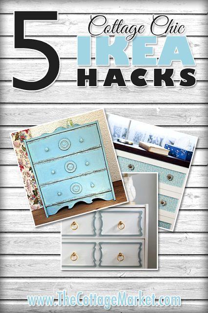 5 Cottage Chic IKEA HACKS (RAST | Ikea HACKS | Pinterest | Ikea hack, Ikea and DIY Furniture