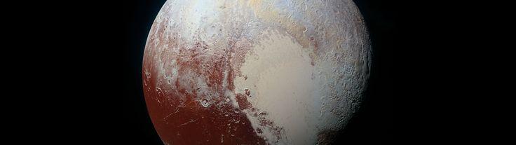 General 3840x1080 Pluto space NASA