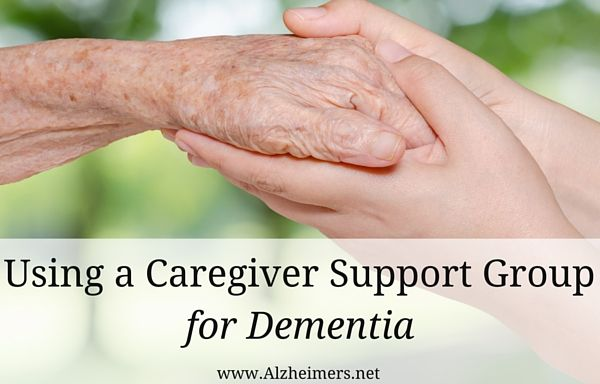 A caregiver support group can assist those caring for loved ones with dementia through difficult times.