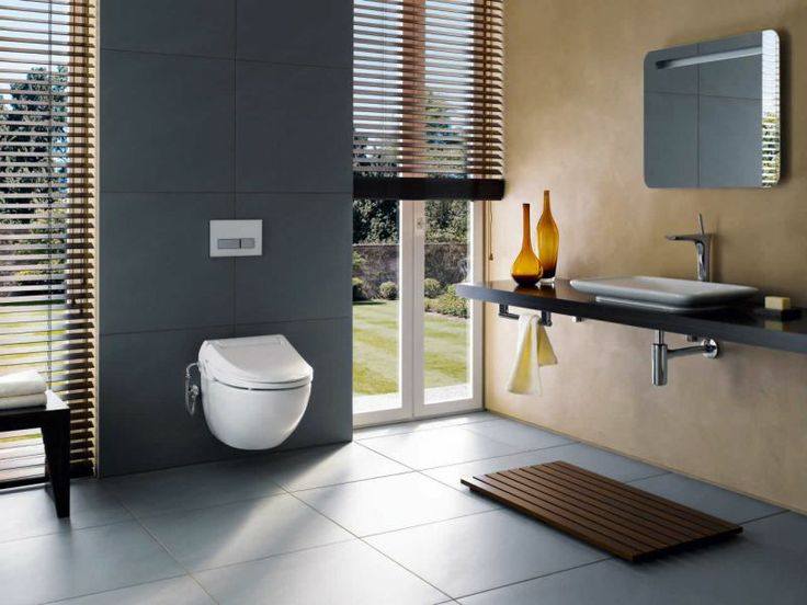 Geberit AquaClean 4000 Toilet Seat Upgrade : UK Bathrooms tiles