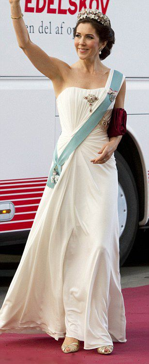 Crown Princess Mary of Denmark has been voted Most Stylish Young Royal in a poll of Hello! readers FEMAIL look back at her best fashion moments, August 17, 2015