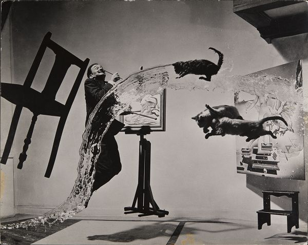 One of my favorite photos of all time. Dali Atomicus, 1948 © Philippe Halsman Archives