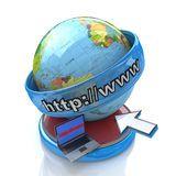 Internet global Imagenes de archivo