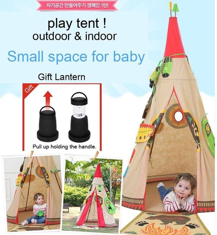 Play Tent for Baby Outdoor Indoor Playhouse Kids Wigwam Children Teepee Ball Pit #BestGoodsKorean