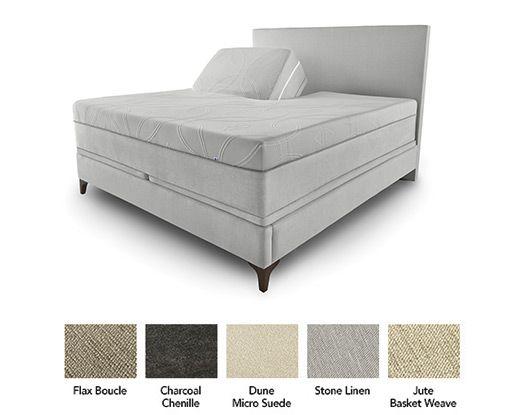 $2400 Modern Panel Bed   Sleep Number